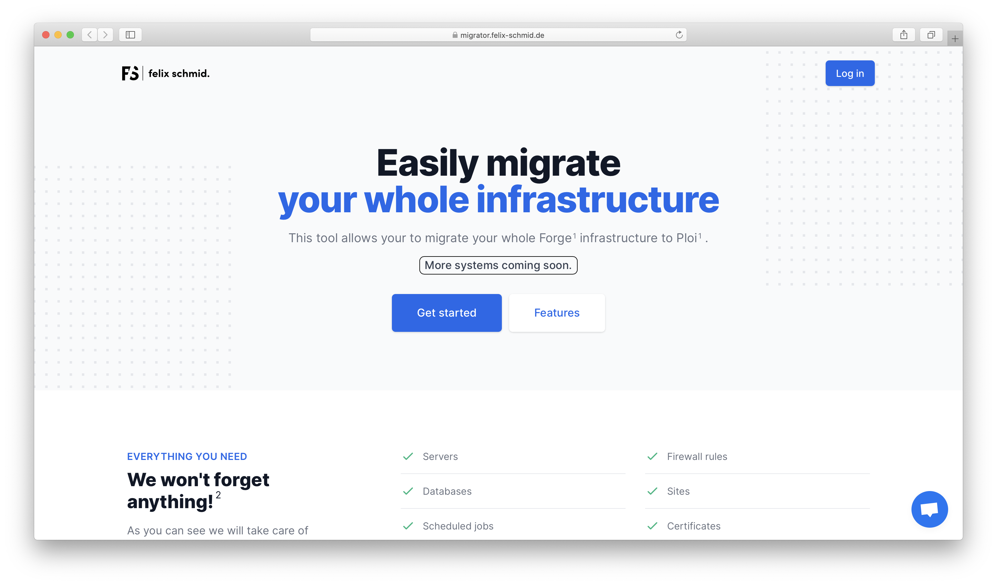 Migrate your Forge servers to Ploi